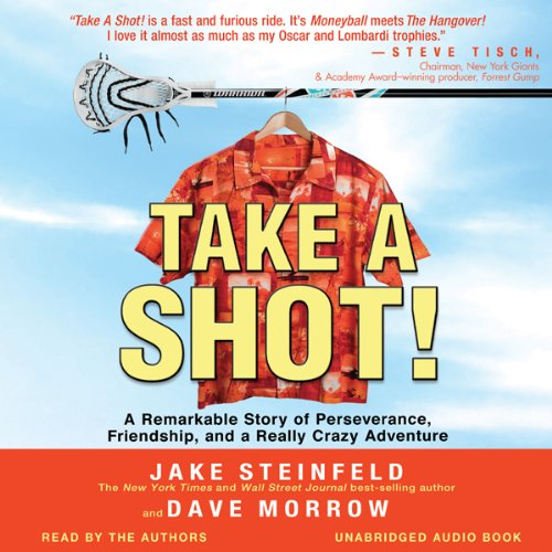 Take a Shot! audiobook cover art