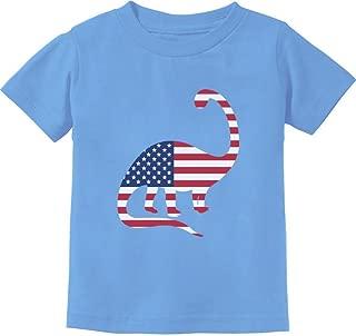 USA Dinosaur American Flag 4th of July Gift Toddler/Infant Kids T-Shirt
