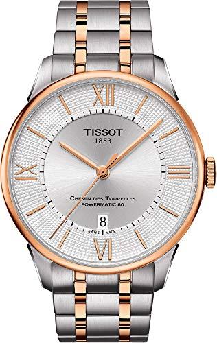 Tissot Chemin des Tourelles Automatic Silver Dial Men's Watch T099.407.22.038.02