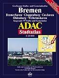 Bremen, Oldenburg, Bremerhaven: Grossraum ADAC Stadtatlas 1:20000 -