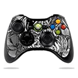 Protective Vinyl Skin Decal Skin Compatible with Microsoft Xbox 360 Controller wrap Sticker Skins Chrome Water