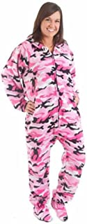 Forever Lazy Footed Adult Onesies | One-Piece Pajama Jumpsuits for Men and Women | Unisex