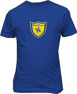 Conla Associazione Calcio Chievo Verona Mens Personalized Tee Shirts