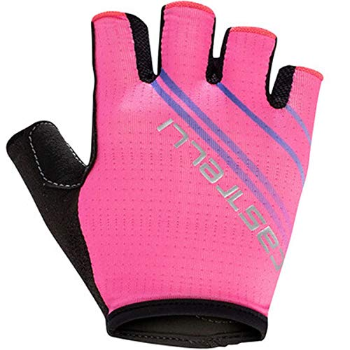 CASTELLI 4519060-022 DOLCISSIMA 2 W GLOVE Guanti ciclismo Donna pink fluo L