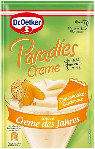 Dr. Oetker Paradies Creme des Jahres Cheesecake, 12er Pack (12 x 60 g)