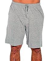 14501-Grey-XXXL At the Buzzer Men's Pajama Shorts / Sleepwear / PJs,Grey,XXX-Large