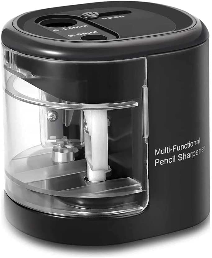 TSWEET Electric Pencil Sharpener Battery Operated Automatic Penc Low Limited price sale price
