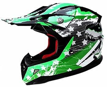 Motocross Youth Kids Helmet DOT Approved - YEMA YM-211 Motorbike Moped Motorcycle Off Road Full Face Crash Downhill DH Four Wheeler Helmet for Street Bike Dirt Bike BMX ATV Quad MX Boys Girls Medium