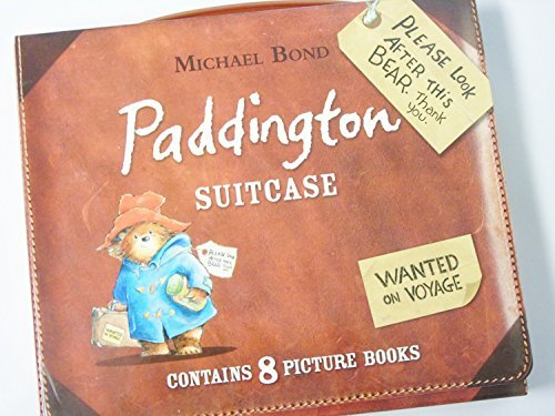 Paddington Suitcase (Eight book set) (Paddington Bear) by Genuine Paddington!