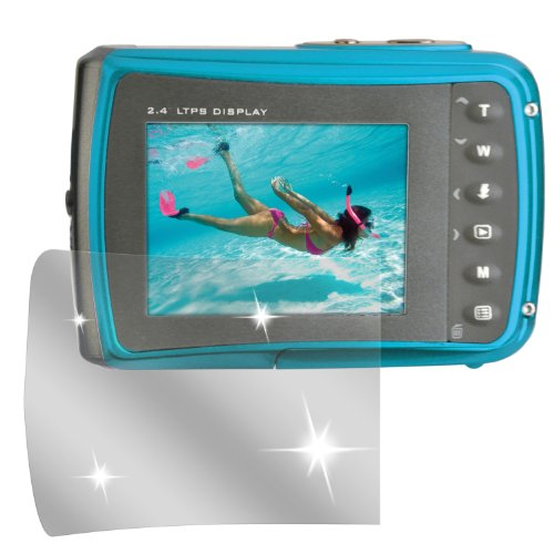 dipos I 6X Schutzfolie klar kompatibel mit Easypix Aquapix W1024 Folie Displayschutzfolie