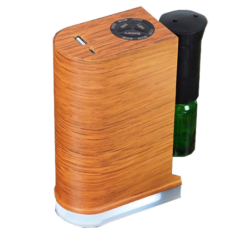 前売カメ機知に富んだ木目調ネブライザー式ディフューザー【ブラウン】 / Q-001-BR / ###アロマQ-001茶###