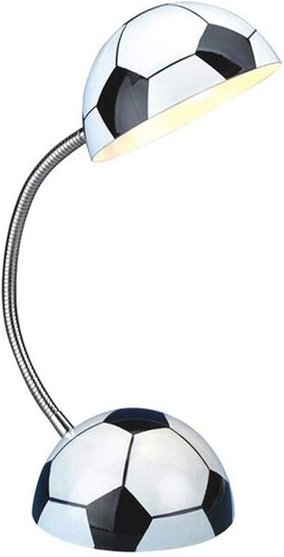 Moderne Kronleuchter Scheinwerfer Fuball Metall Schreibtischlampe Moderne minimalistische verstellbare E14 1-Light Tischlampe