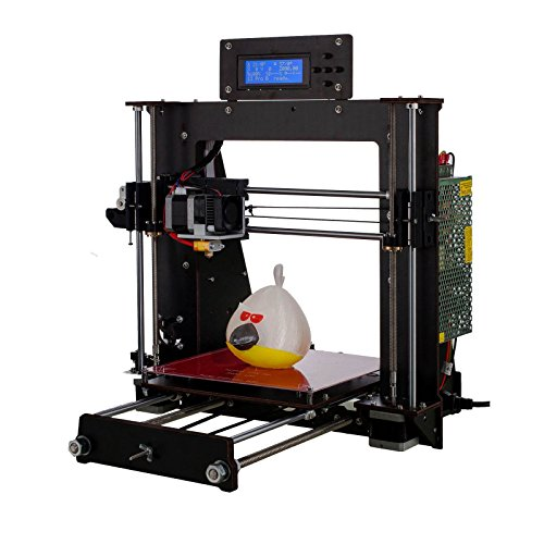 PrinThink 3D Drucker bausatz Prusa I3 DIY A8 3D Printer Hohe Präzision Verwenden PLA ABS 1.75mm Filament, CTC Desktop 3D Drucker Kit (DIY I3)