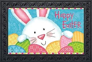 Briarwood Lane Bunny and Eggs Easter Doormat Easter Bunny Indoor Outdoor 18