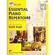 Essential Piano Repertoire of the 17th, 18th, & 19th Centuries, Level 9 (Neil A Kjos Piano Library) (Book & CD)