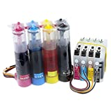 CISinks Continuous Ink Supply System for Brother Printers (LC103 LC101) - DCP and MFC Series Printers