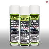 Petec_bundle 3X PETEC KLIMAANLAGENREINIGER Schaum AktivSchaum Desinfektion PKW 500 ML 71350