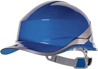 Delta plus 642068 DIAM5 Baseball Shape Safety Cap, Adjustable, Blue (20 units)