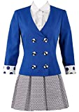 HonRmon Heathers The Musical Rock Musical Veronica Sawyer Stage School Dress (Costume Made) Blue
