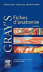 Gray's Fiches d'anatomie de Richard L. Drake