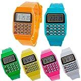 Vasara Reloj Calculadora - Relojes Infantiles para Niños. Regalos de Cumpleaños, Comuniones Baratos y Divertidos