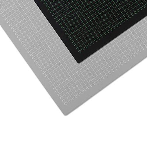 Selbstheilende Schneidematte, 60 x 90 cm, Hilfslinien, schont Klingen, Schneide-Unterlage, Cutting Board/Mat für Patchwork, Bastelmatte, Bastelunterlage, Arbeitsunterlage