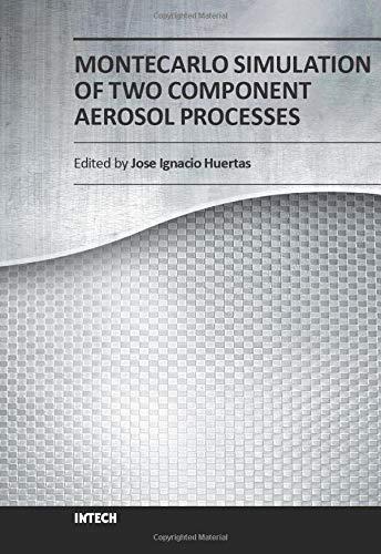 Montecarlo Simulation of Two Component Aerosol Processes
