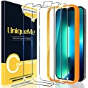 3-Pack UniqueMe Tempered Glass Screen Protector for iPhone 13 Pro Max