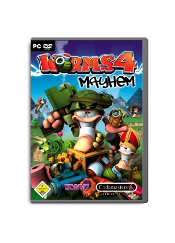 Worms 4 Mayhem (DVD-ROM)