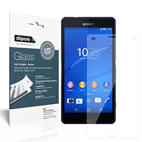 dipos I 2x Protector de Pantalla para Sony Xperia Z3 Compact Vidrio Flexible Cristal Proteccion 9H