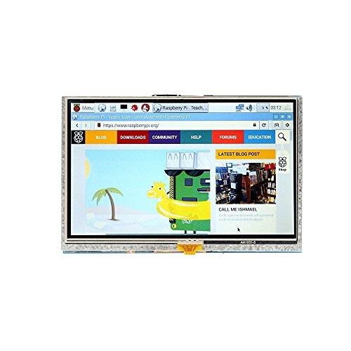 SainSmart 5 inch 800x 480 Touch Screen TFT LCD Display Module Resistive Panel HDMI Interface für Raspberry Pi 3 Pi 2 Model A/A+ B/B+