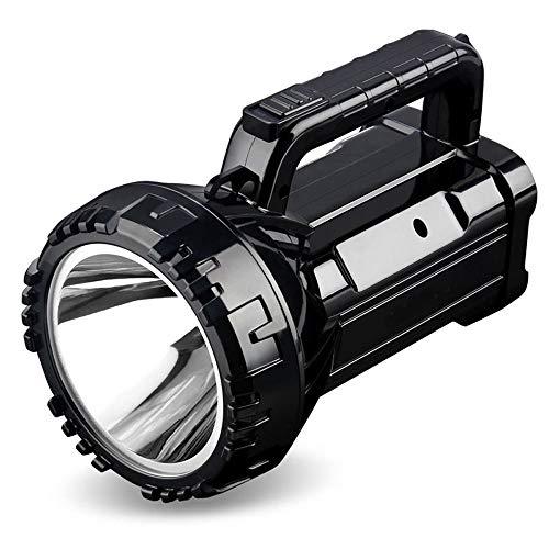 FTLY LED Rechargable Portable Projecteur Lampe de Poche Torche 2800MA Camping Lantern Spotlight Banque De Puissance en Plein Air Tente d'urgence Haute Puissance Super Bright Flashlight
