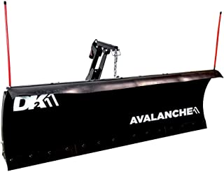 DK2 Avalanche ELITE 88 x 26 inch Heavy Duty UNIVERSAL T-Frame snow plow Kit AVAL8826ELT. Includes Upgraded Actuator (ACT8020) and Upgraded wireless remote (EWX004)