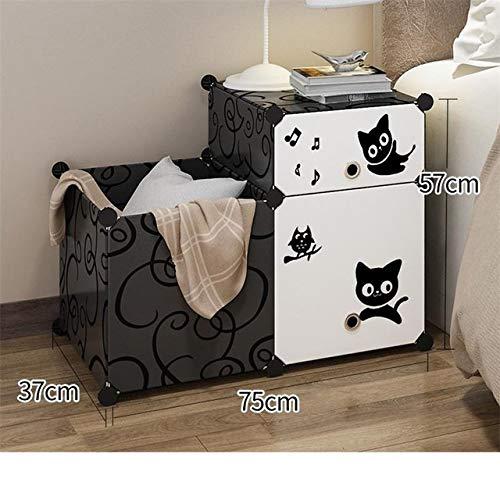 Nachtkastje LKU Slaapkamer nachtkastje creëren mute bijzettafel slaapkamermeubel nachtkastje, MODEL P