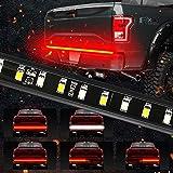 MIHAZ 5 Function 60 inch LED TailgateLight Bar Strip Light Turn Signal, Brake, Reverse Light