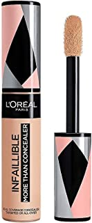 L'Oréal Paris Infaillible More Than Concealer nr 326 Vanilla korektor o wysokiej pigmentacji, bardzo duży aplikator, długo...