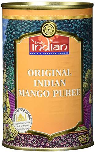 Truly Indian Mango-Püree - Indisches, gezuckertes Obst-Püree für Desserts und Saucen - 1 x 450 g