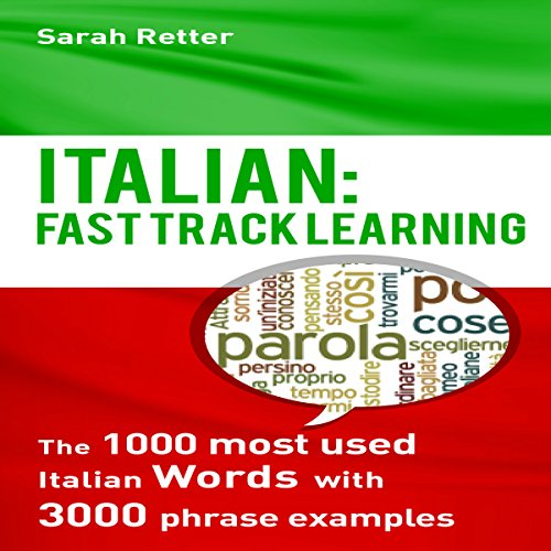 Italian: Fast Track Learning audiobook cover art