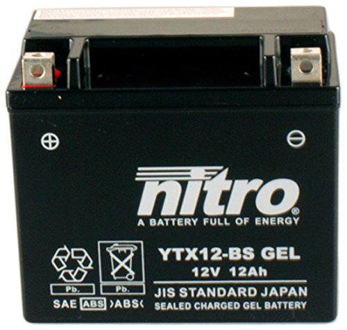 Nitro ytx12BS Gel–N ytx12BS Gel AGM chiusa, Schwartz, dimensione Na