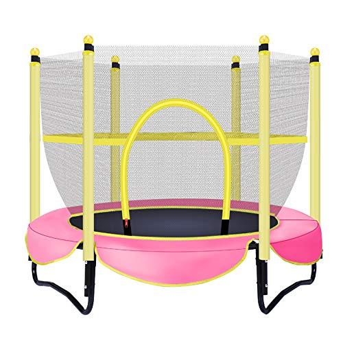 ZCXBHD Trampoline Trampoline Met Veiligheid Behuizing Gegalvaniseerd Staal Peuter Trampoline Voor Outdoor Outdoor Trampolines Netten Voor Trampolines