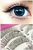 Dorisue False Eyelashes Natural lashes Natural Daily Wear Black and Short False Eyelashes Charming Eye Lashes Makeup 10 pairs set