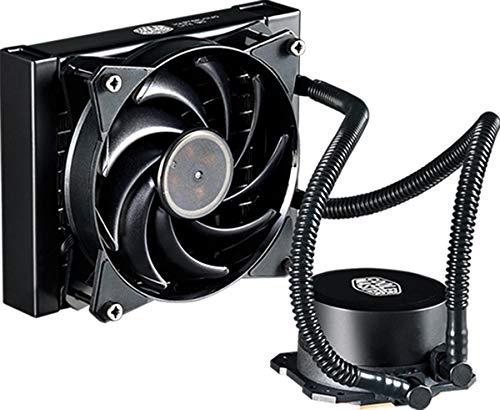 Cooler Master MasterLiquid Lite 120-CPU-Wasserkühler - Dual-Dissipationspumpe und 120-mm-Luftausgleichslüfter