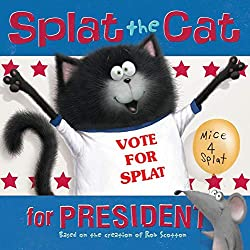 """Splat the Cat for President"" Book for Children"