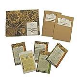 Superalimentos - Set de regalo de semillas con 5 plantas súper saludables y favorables para su bienestar