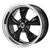wheel cap mitsubishi endeavor - American Racing Custom Wheels AR105 Torq Thrust M Gloss Black Wheel With Machined Lip (17x7.5