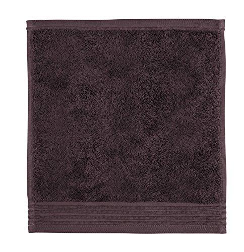 möve Loft serviette lavette 30 x 30 cm en 100% coton (Spinair), graphite