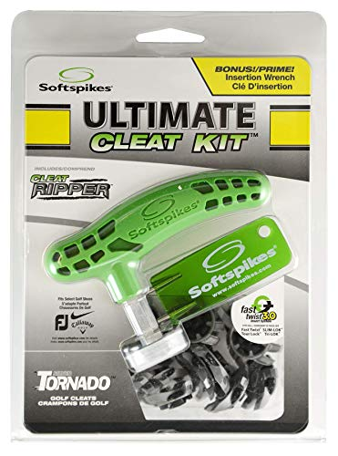 Softspikes Ultimate Cleat Kit, Silver Tornado Fast Twist 3.0
