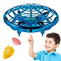 Hand Operated Mini Toy Drone for Kids, Upgraded UFO Flying Ball Toy with LEDs, USB Rechargeable Indoor Drone, Most Popular 2020 Birthday Gift for 4, 5, 6, 7, 8, 9, 10, 11, Year Old Boys and Girls by Asani