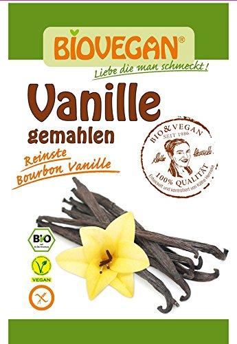 Biovegan Bio Vanille gemahlen, BIO (20 x 1 Stk)