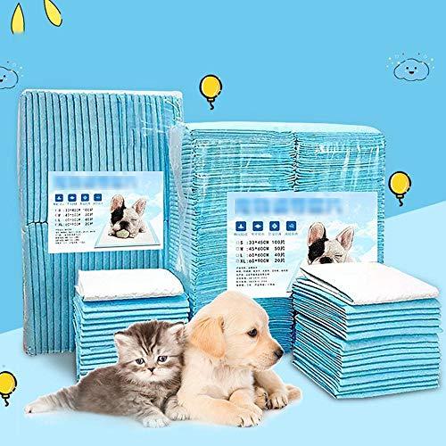 Fijnere aankleedkussen voor honden Matras voor kinderwagen Tafel Tafelkleed Puppyluier, blauw, XL